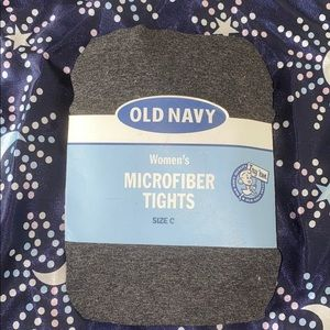 Old Navy Women's Microfiber Gray Tights size C